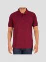 Man Maroon T-shirt