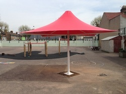 Tensile Roof Umbrella