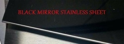 Black Mirror Stainless Steel Sheet