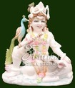 Marble Krishna Idol