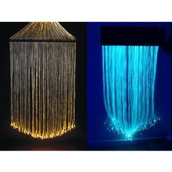 Shine Illuminations Electric Fiber Optic Curtain
