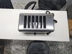220V Stainless Steel Commercial Pop Up Toaster