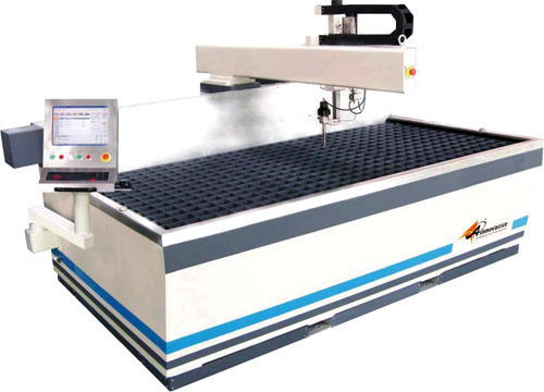 Flying Arm Cnc Waterjet Cutting Table
