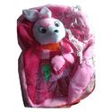 Pink Kids School Bag, Bag Size: 10l