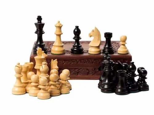Paramount Hand Crafted Elite Range Chess Pieces/Coins (Yellow & Black)