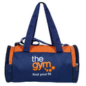 Custom Printed Duffle Gym Bag