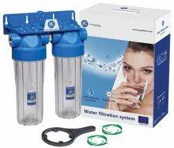 White Water Filter Housing