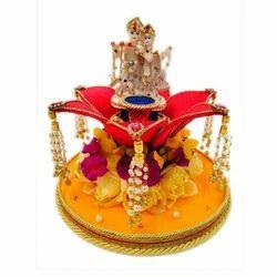 Radha Krishna Ring Platter