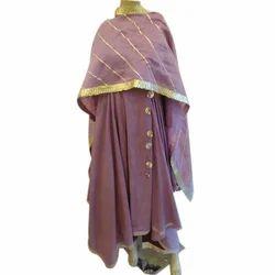 Chiffon Ladies Festive Ethnic Wear