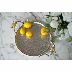 Metal  Decorative Serving Trays
