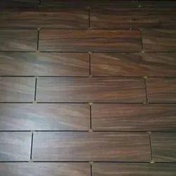 Glossy 13 Mm Wooden Floor Tiles, For Flooring