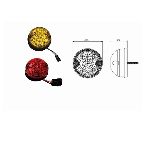 Neolite Neo-1401 74 mm Indicator Lamp Assembly
