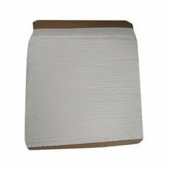 Cotton Kundan White Viscose Raffia Lace