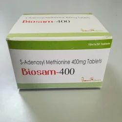 S Adenosyl Methionine 400mg Tablets