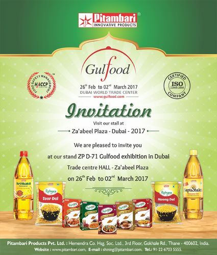 Pitambari Products Private Limited - Exporter from Thane