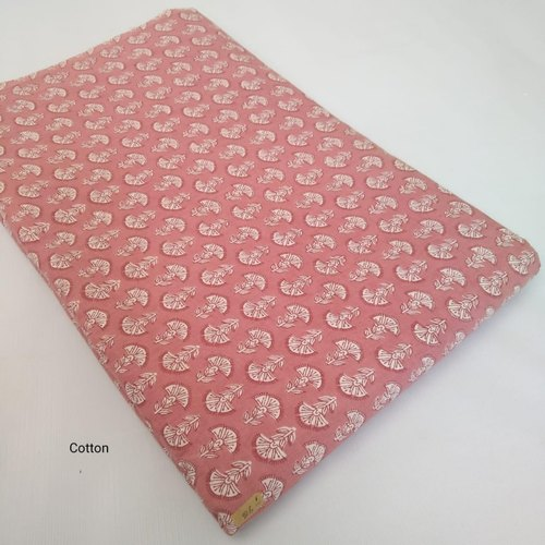 Kantha Screen Printed Cotton Fabric