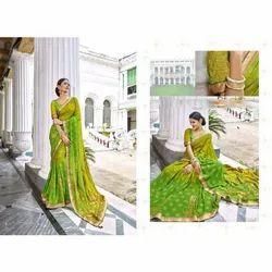 Ladies Fancy Bandhani Saree