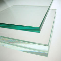 Transparent Toughened Safety Glass, Size: 1000 X 2000 mm, Shape: Flat