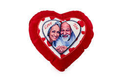 Sublimatable Heart Cushion