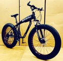 Mercedes Benz Black Shark Fat Tyre Cycle