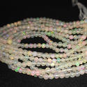 Natural Ethiopian Opal Round Ball Beads
