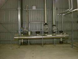 Stainless Steel IBR Steam Distribution Header