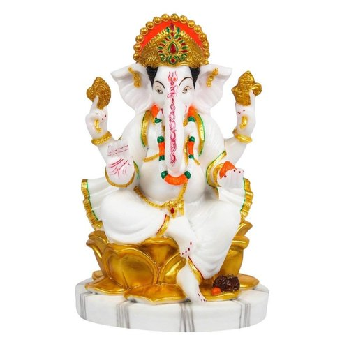 Ganesh Ji Marble Ganesh Statue Manufacturer From Noida