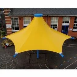 PVC Modular Single Conic Tensile Structure, Features: Easily Assembled, Eco Friendly