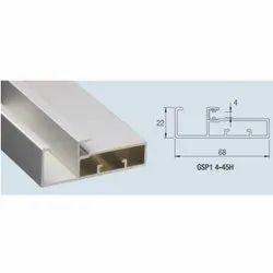 Aluminum Edge Frame Profile 45mm