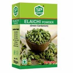 Sp Spices Elaichi Powder, Packaging Size: 50g