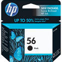 56 Hp Black Ink Cartridges, For Printer