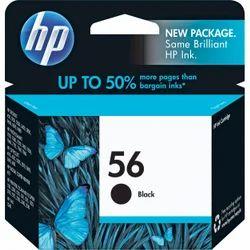 56 HP Black Ink Cartridges