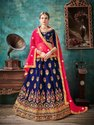 Sanskar Style Barfi Silk Designer Lehenga