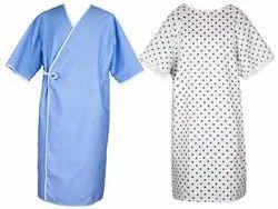 Stitched Unisex Patient Gown, Machine wash, Size: S - M - L - Xl - XXL