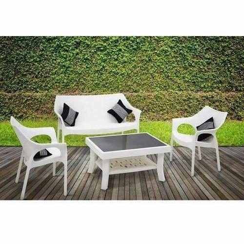 Outdoor Plastic Sofa Set
