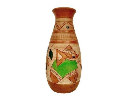 194 & Clay Flower Vase