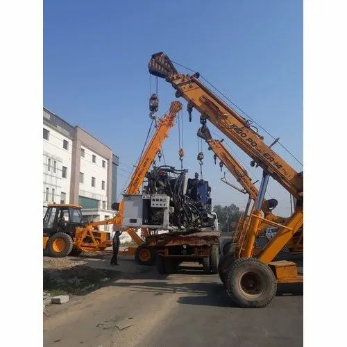 Diesel Cranes On Hire 10 Tons Hydra Service, Rental Duration: 1 to 4 Hours, In 100 Km Around Mumbai