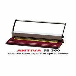 Antiva Flooscape Size Spiral Binder, Model Name/Number: Sb 360, Size/Dimension: 415l X 225 D X 300 H Mm