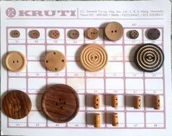 Coconut And Large Wooden Buttons