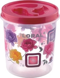 Printed Airtight Plastic Container 2200 ml