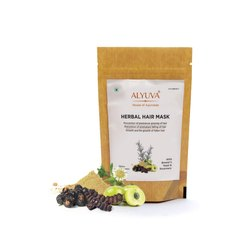ALYUVA Natural Hair Mask, Type Of Packaging: Pouch