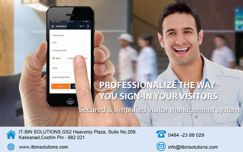 ITBINVMSDORBUK Visitor Gate Pass Management Software | ID