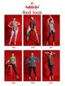 Fabfirki Red Look Womens Tops
