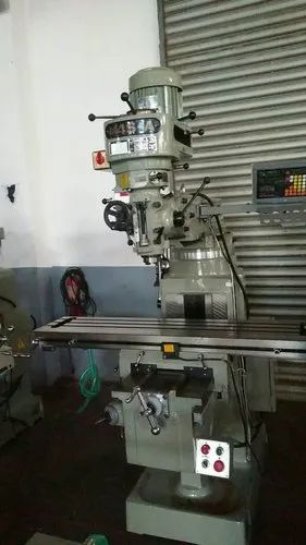 INDIAN Turret Type VERTICAL MILLING MACHINE, Model No.: MODEL M3