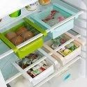 Fridge Storage Sliding Drawer Freezer Storage Shelf Multipurpose Refrigerator - refrigerator bucket