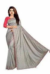 Women''s Joya Silk Saree With Blouse