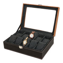 Coffee & Dark Brown Watch Case