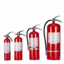 Mild Steel ABC Type Fire Extinguisher, Capacity: 2 Kg - 4 Kg - 6 Kg