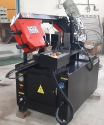 Metal Cutting Bandsaw Machine Semi Automatic Sawmax HBS 270