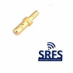 SMB Male Straight Connector For Rg 174 , Rg 316